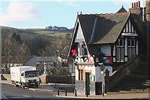 NT2540 : Bridge Inn and Franco's restaurant, Peebles by Jim Barton