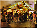 SJ8398 : Exchange Square, Manchester Christmas Market by David Dixon