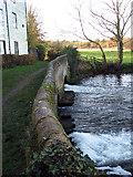 TG2105 : Public bridleway past Keswick Mill by Evelyn Simak
