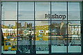 ST5872 : New windows of the reconstructed M-Shed in Bristol by Anthony O'Neil