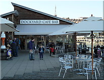 ST5772 : Cafe at the SS Great Britain, Bristol by Anthony O'Neil