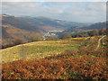ST1890 : View down Sirhowy Valley by John Light
