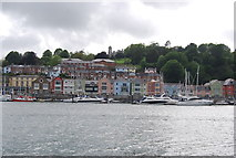 SX8751 : Dartmouth, from the Higher Ferry by N Chadwick