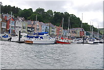 SX8752 : Boats moored on the Dart by N Chadwick