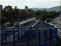 J3574 : Titanic Quarter train station, Belfast by Robert Ashby