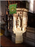 SY6778 : Inside Holy Trinity, Weymouth (s) by Basher Eyre
