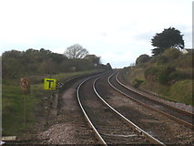 SW6138 : The remains of Gwinear Road station by Rod Allday