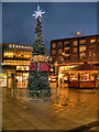 SD8010 : Christmas Decorations at St John's Square by David Dixon