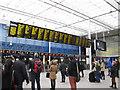 TQ3280 : London Bridge station - new screens by Stephen Craven