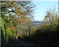ST5763 : 2012 : South down Chew Hill by Maurice Pullin
