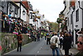 TQ8209 : Crowds, Hastings High St by N Chadwick
