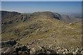 NY2307 : Summit plateau on Esk Pike by Tom Richardson