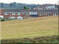 J4670 : Houses and field, Comber by Albert Bridge