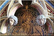 TF2935 : Reredos detail, Ss Peter & Paul church, Algarkirk by J.Hannan-Briggs