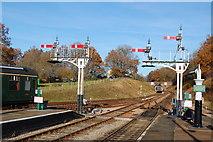 TQ3729 : Horsted Keynes Station by Trevor Harris