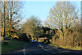 ST5464 : 2012 : B3130 heading west to Winford by Maurice Pullin