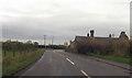 SJ2824 : B4396 west of Moreton Crossroads by John Firth