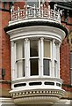 SJ8990 : St  Peter's Chambers bay window by Gerald England