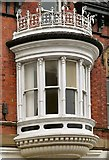 SJ8990 : St  Peter's Chambers bay window by Gerald England