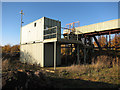 TL3672 : Conveyor belt, Needingworth Quarry by Hugh Venables