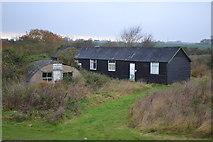 TM0308 : Bradwell Old  WW2 buildings by Arthur Stevens