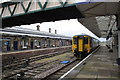 NX9928 : A Super Spinter dmu at Workington station by Roger Templeman