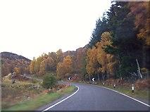 NN6795 : A86 near Lochaine Uvie by Andrew Abbott