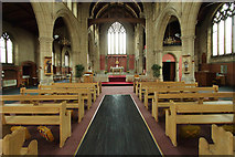 TQ1472 : All Saints, Campbell Road - East end by John Salmon