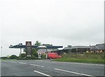 H4277 : The Sperrin Restaurant and Service Station on the A5 at Mountjoy by Eric Jones