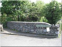 SX8672 : Bridge parapet, Oakymead Park by Robin Stott