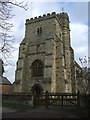 SP7416 : St Michael & All Angels church, Waddesdon by Dave Kelly