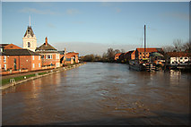 SK7954 : River Trent by Richard Croft