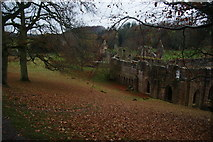 SE2768 : Autumn at Fountains Abbey by Bill Boaden