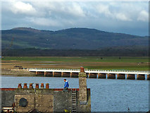 SD4578 : A roofer at work, Arnside by Karl and Ali