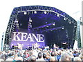 SK6163 : Keane in concert, Sherwood Pines - 19th June 2010 by Richard Humphrey