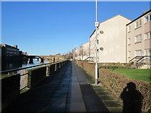 NS3421 : Riverside Walkway, Ayr by Billy McCrorie