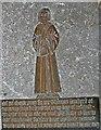 TR0624 : Brass to Thomas Lamberd, St Nicholas' church, New Romney by Julian P Guffogg