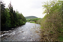 NO2694 : River Dee from B976 bridge by Jo Turner