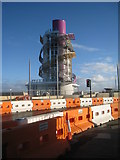 NZ6025 : Redcar Beacon almost complete by Jonathan Thacker