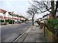 TQ1573 : Heathfield North, Twickenham by Christine Johnstone