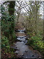 SO6691 : Upton Cressett brook by Richard Law