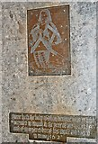 TQ9245 : Brass to John Dering, St Nicholas' church, Pluckley by Julian P Guffogg