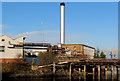 J3675 : Chimney, Belfast Harbour Estate by Albert Bridge