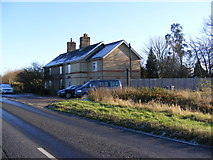 TL3160 : Cottages on Brockley Road by Adrian Cable
