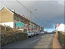 SO1004 : Glenview Terrace, Pentwyn. Fochriw by Robin Drayton