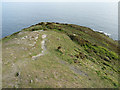 SX4148 : Looking out to sea from Rame Head by Rob Farrow