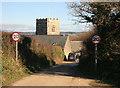SX1255 : Golant Church by roger geach