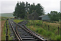 NY5698 : Building at Saughtree Railway Station by Trevor Littlewood