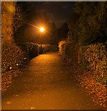 TA0432 : Footpath near Cottingham Church by Andy Beecroft