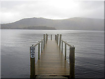 NY2521 : View from Hawse End landing stage over Derwent Water by Graham Robson